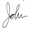 John Spiegelman signature